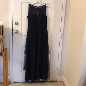 Donna Morgan Navy Gown